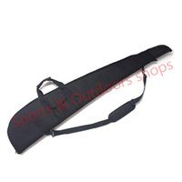 bow and arrow gun - 600D oxford and leatherette rifle gun bag to protect gun shooting hunting gun case for