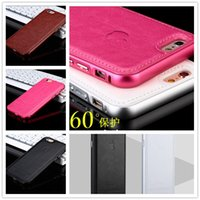 Wholesale 2015 new Luxury Aircraft Aluminum Leather Phone Case Cover Skin for iphone5 s iPhone iPhone6 Plus