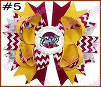 basketball hair accessories - quot basketball team hair bows Layered Bottle Cap Hair Bow girl sport bows football hair bows clips hair accessories