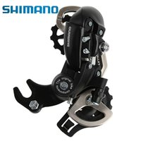 Wholesale SHIMANO Tourney RD TX35 Speed T Hanger Mount Top Normal Traditional Long Mountain MTB Bike Bicycle Cycling Rear Derailleur