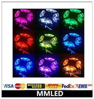 led ribbon lights - 2015 new M DC V warm white cool white blue green red LED Strip SMD Flexible light led m outdoor waterproof IP65 Ribbon mmled