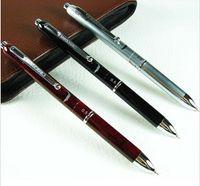 Office & School Pen crocodile pen - OP Crocodile Multi function Ball Point Pen Blue Red Black mm Pencil HH01