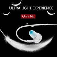 bh w - BH A In ear Wireless Bluetooth Stereo Headset BT EDR Sweat proof Outdoor Sport Music Earphones w Mic for iPhone Samsung order lt no t