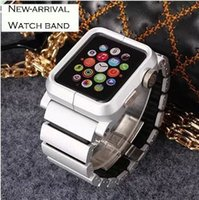 Cheap watch band for apple Best alloy metal