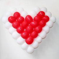 balloon hole - Wedding Supplies Balloon Grids Wedding Party Balloon Decoration Holes Plastic Heart Shape Balloon Mesh JM0022 salebags