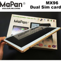Wholesale MaPan hot sale inch quad core g tablet pc G GSM GPS Phone Call HDD android tablet
