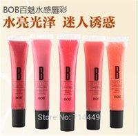 amazing bob - Original BOB color lipsticks lip gloss Amazing Feeling Charming Temptation Moisturizing Shine Lip Care Gloss