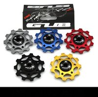 Wholesale T MTB Bike ceramic bearing jockey wheels pulleys for Mountain Road bicycle colors high quality