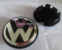 Wholesale DHL SHIPPING alloy mm VW Wheel Center Cover Hub Cap D car badges emblem EOS Golf Jetta Mk5 Passat B6 VW B7