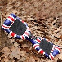 8 - 2015 UK Flag Balance Scooter Electroic Unicycle Samsung mah Fashion Graffiti Key Remote Control Self Balance Unicycle with Carry Bag