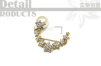 asian girls online - Fashion Brooch Pins New Arrival Brooch Bouquet Pce A Nice Costume Jewelry Online Star Shape Body Jewelry For Women Girls