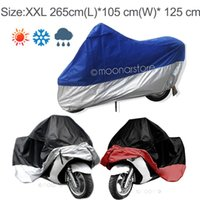 bike cover - High Quality Motorcycle Bike Waterproof Dustproof UV Protective Dust Prevention Covering Breathable Motor Vehicle Cover Split Color