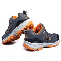 Wholesale Men Women Outdoor hiking shoes Athletic Sneaker Breathable Sport Long lasting Wear Basketball Tennis Jogging Shoes Two Colors