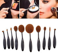 makeup brush set - Top Seller MultiPurpose Nylon Makeup Brush Gift Set Cosmetic Beauty Blusher Eyeshade Foundation Brushes Tools IB13