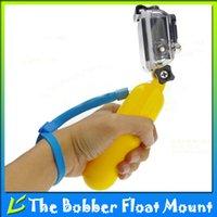 Wholesale Gopro Accessories Bobber Float Mount Stabilizer Handheld Monopod Stick With Hand Grip Screw For HERO Hero SJCAM SJ4000 SJ5000