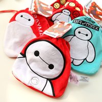 corporate gift - 2015 Super Marines big hero Baymax white tote white fat pouch embroidered tote corporate gifts