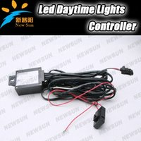 automatic headlamps - LED Daytime Running Light DRL Automatic Control On Off Switch Relay Harness Headlamp Side Light Controller