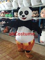 Wholesale Kongfu Panda factory direct High quality Mascot Costume for Festivals Classic cartoon Popular film