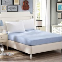 Wholesale Cotton Bed Pad Mattress Protector Cover Colored Mattress Covers Fitted Bed Sheet RM006