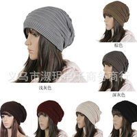 Wholesale 2014 Trend of Korean women warm autumn and winter Fashion Knit beanies cap hip hop casual hat