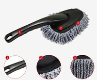 Wholesale Cleaner small Removable microfiber car wax brush dust duster dusting mini car household goods