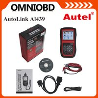 automotive electrical testing tools - Authorized Autel Distributor Autel Auto Link AL439 Auto MultiMeter AVOMeter Scanner Color Screen OBDII Electrical Test Tool