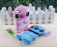 apples cartoons - 3D Stitch case Fit D Cute Silicone Cartoon case for iphone plus For iphone S iphone5 s Touch S3 S4 S5 Note Note Simon03