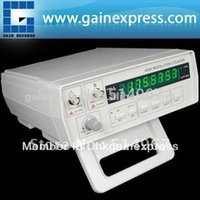 Wholesale Precision Frequency Counter Hz to GHz Work State Unit digit LED Display Steps Function Selection