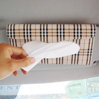 auto grid - Min order is Beige grid auto paper towel box