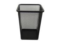 stainless steel trash bin - Waste bin Waste container Trash garbage can Office trash can paper basket standing trash Shape square x22x30cm