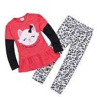 Cheap Girl Children's suit Best Spring / Autumn Long T-shirt suit