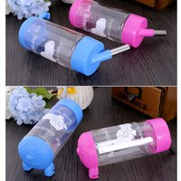auto water dispenser - Water Drinker Dispenser Hanging Bottle Auto Feeder for Pets Dogs Rabbits Cats Birds H13304