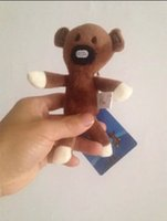 animated keys - Mr Bean animated with stuffed dolls Suitable for key bag pendant very special birthday present Baby toys