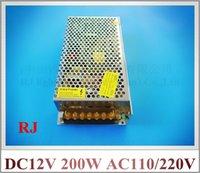Wholesale input AC110V AC120V AC220V AC240V output DC12V W LED switch power supply LED driver switching power supply CE ROHS