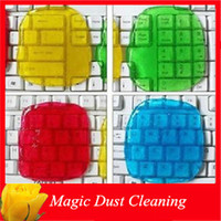 Wholesale High Tech Keyboard Crystal Magic Dust Cleaner Transparent Ash Cleaning Slimy Gel Clay For Cellphone Screen Computer Car Inside