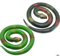 artificial snakes - Prank Toy Likelike Simulation Snake Funny Toys April Fools Day Gift Artificial Snake
