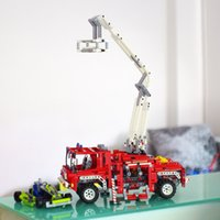 Cheap Fire Engine Truck Model Building Blocks Set for kits 1036 pcs Funny Creative Educational Toys Without Original Box