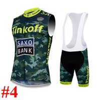 Wholesale 2015 Tinkoff saxo bank Camouflage cycling vest cycling jerseys many choices of cycling team jersey best quality cycling jersey and shorts