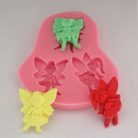 angle cutters - 1set pc Mini Silicone Angles Cookies Candy Chocolate Soap Cake Decorating Mould