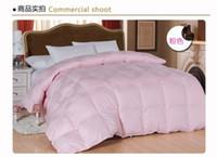 Cheap 100% Cotton duvet Best Woven Home Goose down quilt