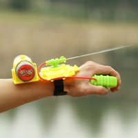Wholesale Summer Water Squirt Toys Children Beach Wrist Water Gun Pistol Fun Random Color