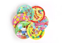 Wholesale Disposable inch paper plate kinds cartoon cute birthday party supplies dinner plates for party