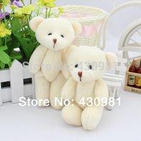 wedding stuff - wedding decorationa bears bouquet accessories stuffed teddy bear dolls creamy white jointed bears cm