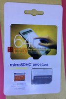 Wholesale 8GB GB GB GB Class10 UHS MicroSDHC TF SD Card for Tablet PC Digital Camera Smart Phones and Tablet PC MB s EVO with Adapter
