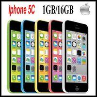 Wholesale 100 Original refurbished iphone c iOS inch GB RAM BG ROM Dual core GHz MP smart phone apple iphone