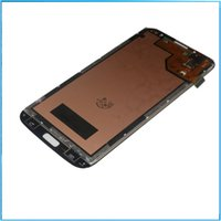 Wholesale 10pc LCD Assembly Display Touch Screen Digitizer Replacement For Samsung Galaxy Mega Mega6 i9200 i9205 i527 blue white