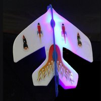 Wholesale LED Sling Shot Led Amazing Arrow Toy Airplane Copter Flying Light up
