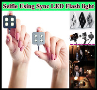 canon camera - For iphone IBLAZR L001 mini led video light flash light for smartphone Selfie Using Sync LED Flash led canon camera selfie light