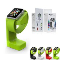 Wholesale For Apple Watch E7 magnetic charge dock charge stander holder For apple watch E7 stand for apple smartwatch holder with retail box DHL free