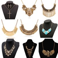 brand name jewelry - Fashion Brand Pendants Necklaces Designer Women PUNK Jewelry Name Statement Necklace For Women